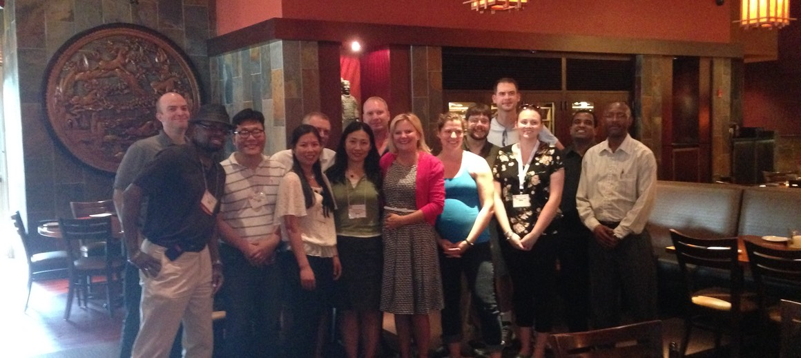 The Group Alums at ASMS 2014